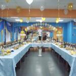 Танцевальный зал. Пример оформления